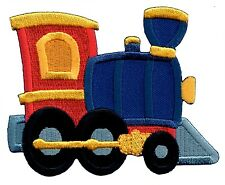 Train Iron On Embroidered Applique Patch - Kids / Baby / PatchMommy®