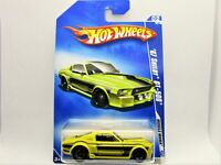 HOT WHEELS 1967 FORD SHELBY GT-500 MUSTANG FASTBACK NEW IN 2009 PACKAGE NICE CAR