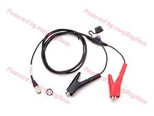 Power Cable with Fuse for TRIMBLE 5600 3600 TOTAL STATION,GEODIMETER,GPS