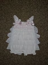 """Starting Out Treasures Baby Girl Ruffled """"flapper""""Jumper 3 Months"""