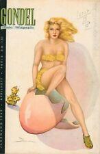 GONDEL - Zeitschrift Magazin - April 1949 - Models Musik Stories - B16783