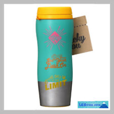 F/S New Starbucks JAPAN Stainless screw bottle 2018 lucky icons yellow  355ml