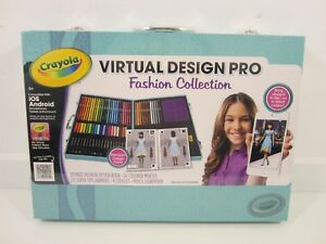 Crayola Virtual Design Pro: Fashion Collection iOS & Android NEW SEALED
