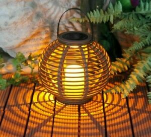 Waterproof LED Solar Lamp Candle Outdoor Lights Yard Garden Patio Decoration
