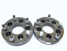 2 QTY 1.25'' Wheel Spacers Adapters 5X4.5-5X5.5 5x1143-5x139.7 CB73.1 1/2-20