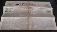 Journal Nationalist L Action Figure French 29 May 1934 N° 149 ABE