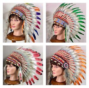 INDIAN HEADDRESS NATIVE HEAD DRESS