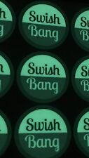 SwishBANG Vinyl Sticker 60mm - The Glow In The Dark One - #swishbang