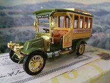 Matchbox  collectibles 1910 Renault motor bus YET06