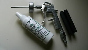"Golf Grip Air Tool Install Kit, Metal DG10 Gun, 1.5"" XL Cup, Vise Clamp, Solvent"
