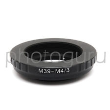 Anello adattatore per obiettivo M39 su MICRO 4/3 Olympus OM-D E-M5 E-M10 E-M5 II