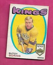 1971-72 OPC  # 152 KINGS BUTCH GORING  ROOKIE GOOD CARD (INV# C4051)
