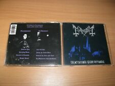 MAYHEM  De Mysteriis Dom Sathanas (1994 Deathlike Silence) Vinterland,Darkthrone