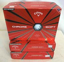 Callaway CHROME SOFT WHITE Golf Balls NEW Lot Of 4 Dozen