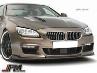 For 12-16 BMW F06 F12 F13 w/ M-Sport Only HM Type Carbon Fiber Front Bumper Lip