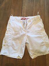 Prada sport cargo shorts 40 US 4 6 white