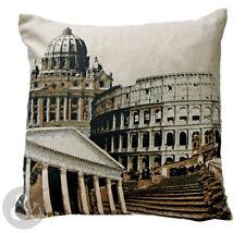 Cotton Blend Pictorial Vintage/Retro Decorative Cushions