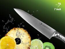 Handmade Japanese Vg10 Steel Chef's knife 7 inch Polishing Blade Fruit Slicer