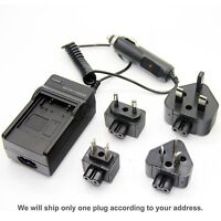 Battery Charger for Canon Digital IXUS 8015 NB-4L NB4L