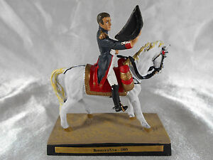 FIGURINE EN PLOMB : NAPOLÉON BONAPARTE VAINQUEUR A LA BATAILLE D'ULM 1805