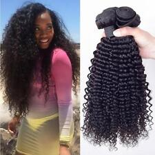 Black Synthetic Weave Hair Extension Crochet Afro Kinky Curly Weaving Hair LA