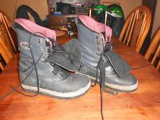 Nice BURTON Landing Pad Air Sole Black WORK Snowboard Boots US 12
