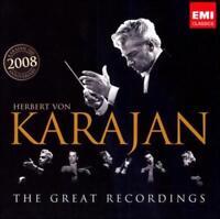 HERBERT VON KARAJAN: THE GREAT RECORDINGS [BOX SET] USED - VERY GOOD CD