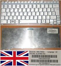 QWERTY KEYBOARD UK TOSHIBA A600 U400 U405 Series 9J.N7482.V0U NSK-T6V0U GREY