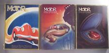 Motor Magazine - LOT of 3 Annual Show Number issues from 1935, 1939 & 1940