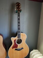 left handed Taylor 814 ce Acoustic electric guitar