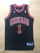 RARE Derrick Rose Chicago Bulls Adidas Swingman Trikot Jersey NBA Sz. M black