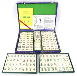 Vintage Authentic Chinese Mahjong Set - 1960s Unused Sealed Pieces