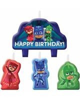 Pj Masks Candles Pack Of 4 One Size
