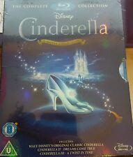 CINDERELLA TRILOGY BLU RAY BOX SET COLLECTION PART 1 2 3 DISNEY new sealed