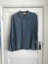Blue Da Vinci 1950s style shirt ex condition