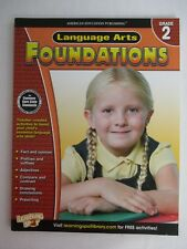 Manuel Education Anglais Language Arts Foundations Grade 2 USA Workbook