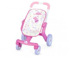 Smoby Toys 7600251206 - Bébé Nurse - Peppa Pig Landeau pour Poupées - Neuf