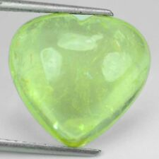 ~BEAUTIFUL~ 16.24 Cts Natural Mint Green Tourmaline Heart Cab Mozambique