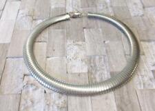 """Sterling Silver Flex Style Thick Chain Necklace 18""""-20"""" ~ 58.4grams ~ 9-E7606"""