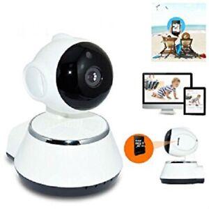 Wireless WiFi Camera HD 720p Pan Tilt CCTV Security Network IP IR Night Vision