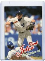 1998 FLEER  BASEBALL CARD # 150 - HOF DEREK JETER -  NEW YORK YANKEES