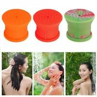 Portable Outdoor Silicone Shower Head Camping Bathing Flower Sprinkler Tools