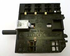 BS Germany AB1 Triple Rotary Switch 16A 250V MBH014E