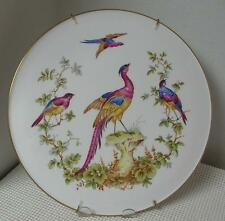 """SPODE CHELSEA BIRD 11"""" COLLECTOR PLATE with Hanger Bone China Y8555-R England"""