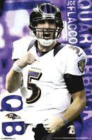 JOE FLACCO ~ PUMPED 22x34 POSTER Baltimore Ravens Football NFL Quarterback 2480