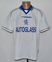 CHELSEA LONDON 1998/2000 AWAY FOOTBALL SHIRT JERSEY UMBRO SIZE L ADULT