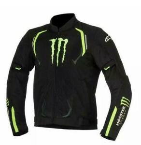 Mens Monster Energy cordura textile motorbike Jacket