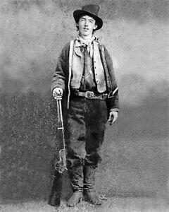 Billy the kid wild west cowboy  - quality glossy photo print  A5