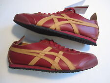 NEW Ascis Mexico 66 Onitsuka Tiger burgundy tan D5M0L 2571 mens shoe 40.5 / 7.5