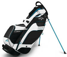Callaway Rogue Fusion 14 Golf Stand Bag Bag Black/White/Blue New!